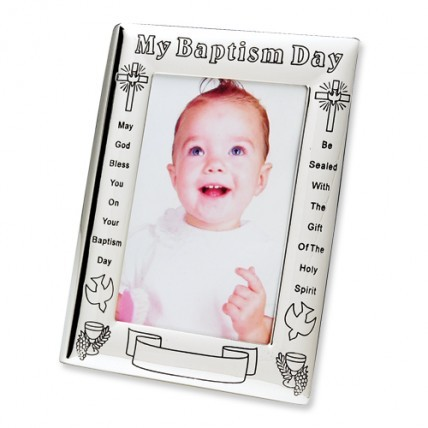 My Baptism Day Photo Frame