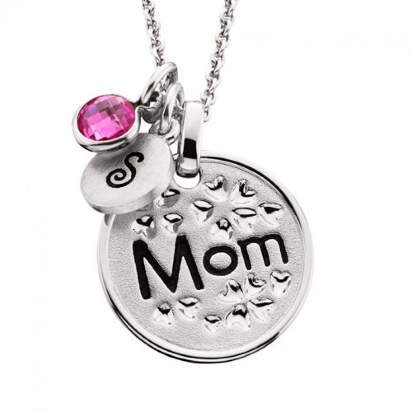 Floral Mom Pendant