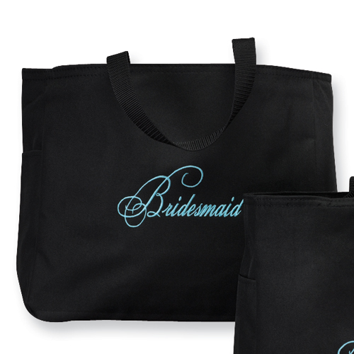 Bridesmaid Diamond Tote Bag